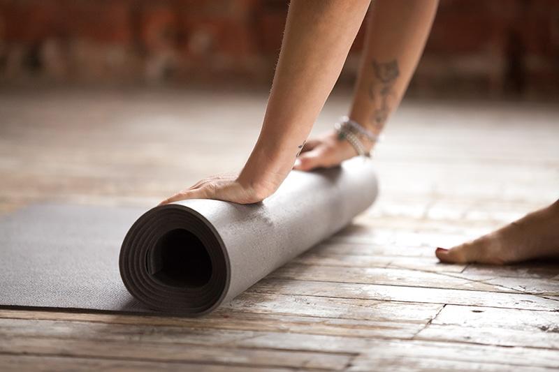 Practicar yoga en casa 2